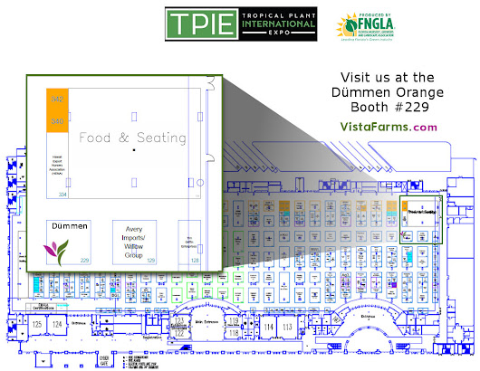 TPIE '18 of the FNGLA is next month see you there - Bougainvillea, Ixora & Hibiscus wholesale young plants - Vista Farms