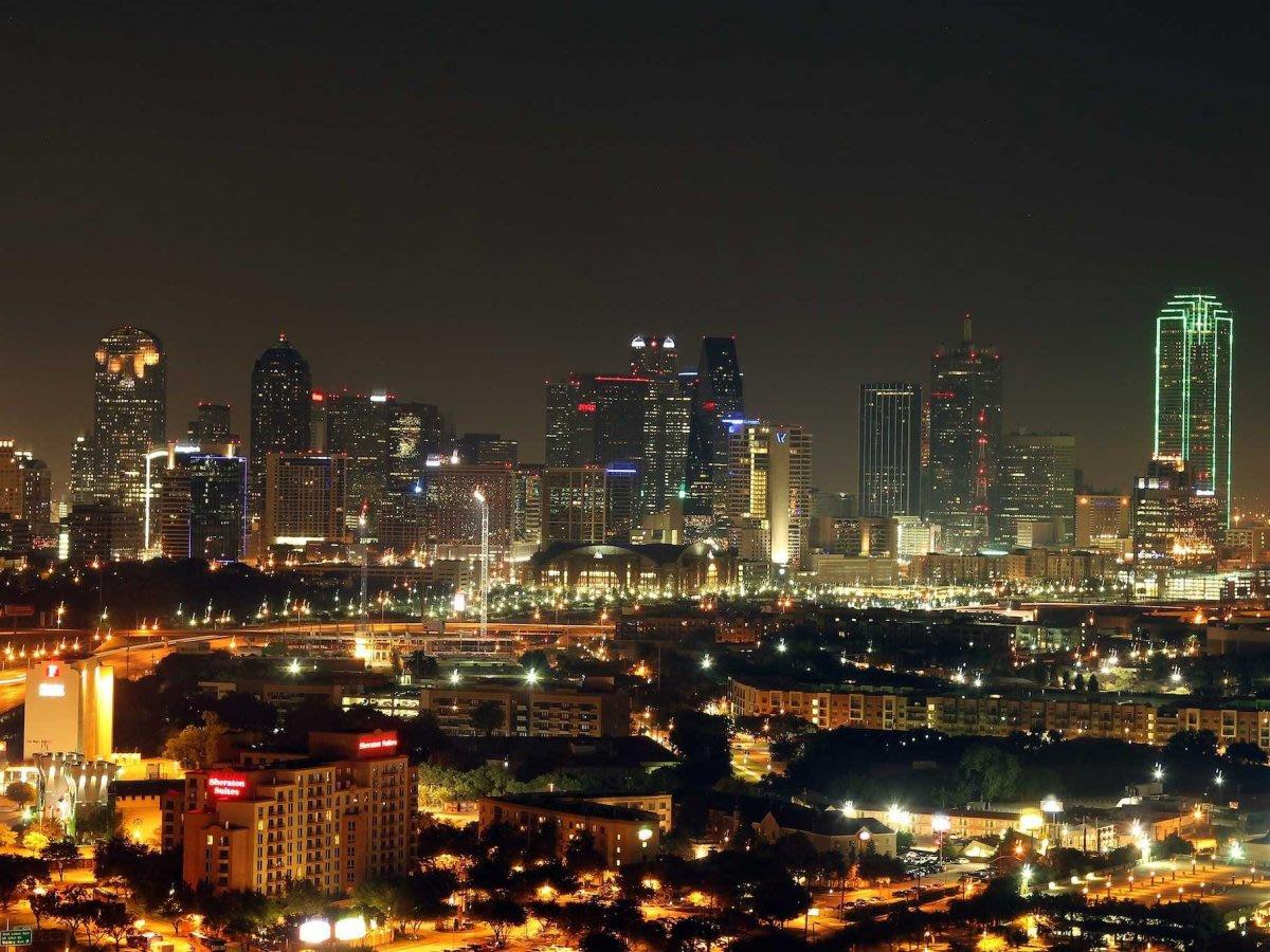 Dallas skyline