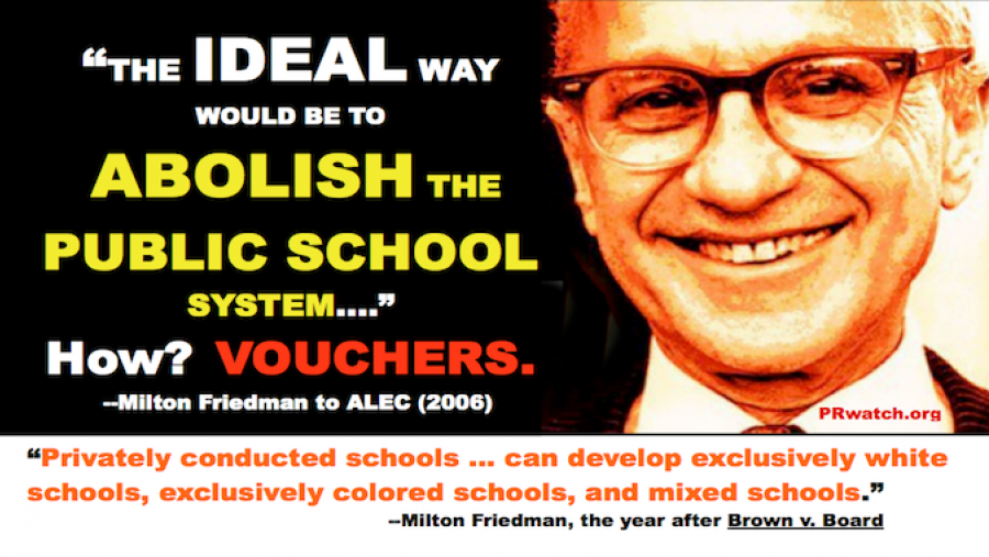 Image result for school vouchers racist