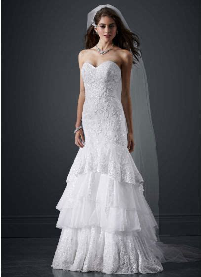 Lace Mermaid Sweetheart Neckline Wedding Dress   David's