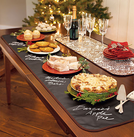 Awesome Christmas Buffet Table Decorating Ideas | Decor ...