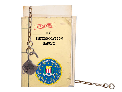 You'll never guess where this FBI agent left a secret interrogation manual