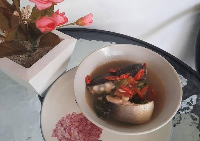 Resep Sup bandeng kuah bening Lezat