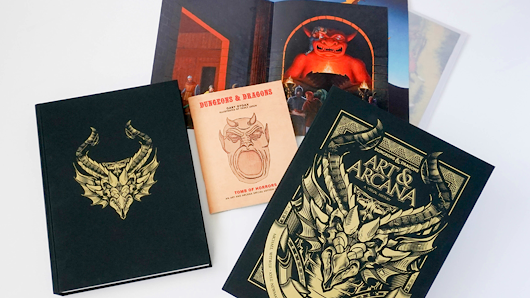 Just Look at This Gorgeous Dungeons & Dragons Art Book