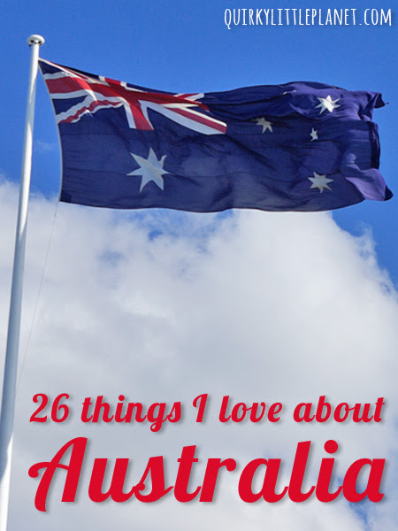 26 things I love about Australia - Quirky Little Planet