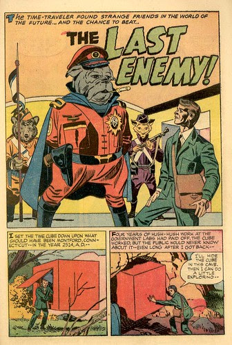 The Last Enemy comic book scans drawings by Jack Kirby Time Travel
