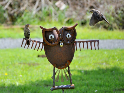 Scrap Metal Yard Art Ideas Inspiring Of Cool Homes