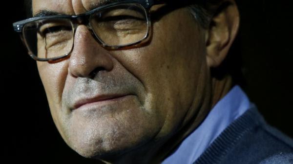 Artur Mas risque dix ans d\'inélégibilité