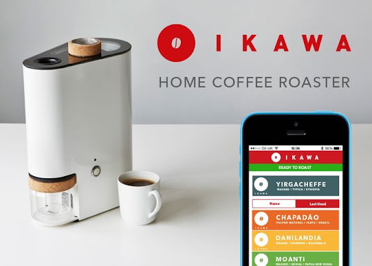 IKAWA The Smartphone Controlled Home Coffee Bean Roaster (video)