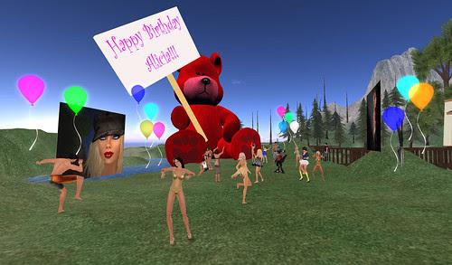 Yay for big bears on my birthday!