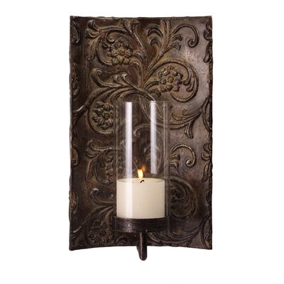 IMAX Metal and Glass Wall Sconce | Wayfair