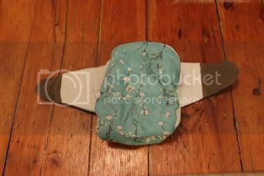 Make a fitted diaper from a prefold