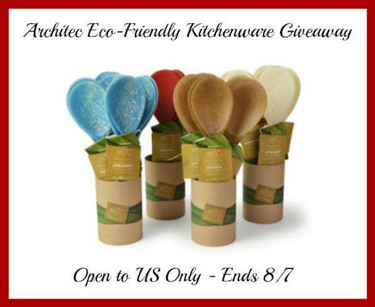 Architec Eco-Friendly Kitchenware Giveaway - Pink Ninja Blogger