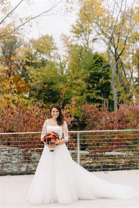 A Beautiful New York Wedding in the Fall   MODwedding