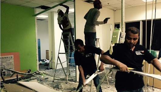 Office Reinstatement Singapore | Turn offices back into its original condition