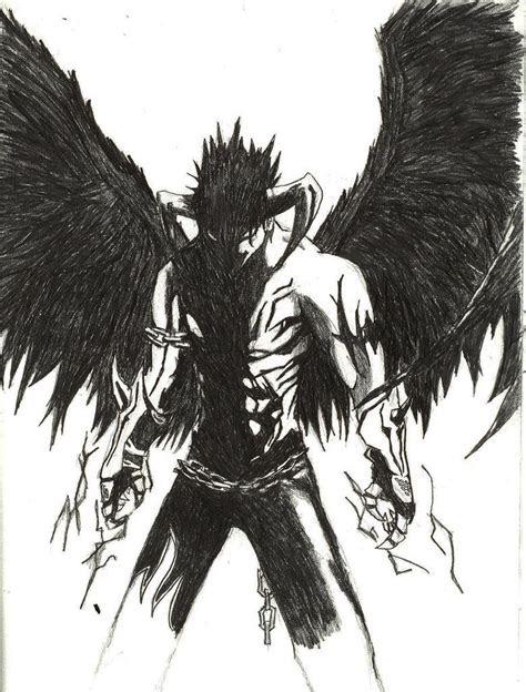 devil drawing tekken anime demon boy jin kazama