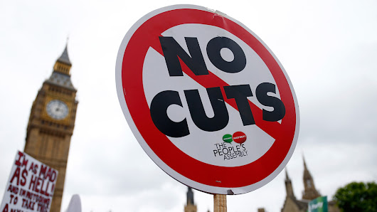 Anti-austerity protests: thousands march against cuts