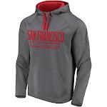 Fanatics Mens NFL San Francisco 49ers Defender Primary Logo Pullover, Men's, Size: Large, Grey