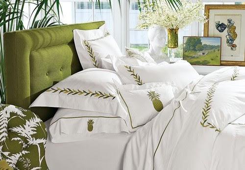 Spring 2009 British Colonial Bedroom Design Ideas | Williams-Sonoma Home tropical bedroom