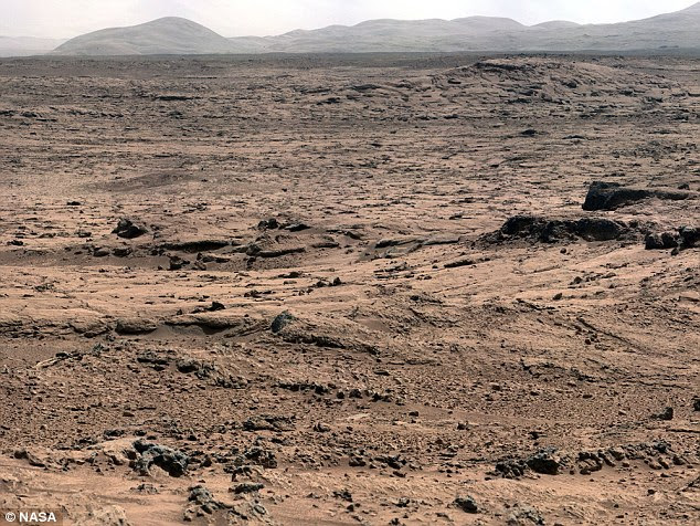 Dr Brandenburg says Mars once had an Earth-like climate home to animal and plant life, and any intelligent life would have been about as advanced as the ancient Egyptians on Earth