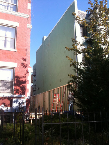 Infill house on Harvard