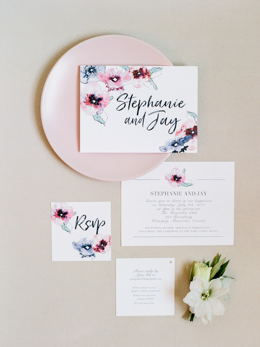 Stephanie and Jay's Gorgeous Flower-Filled Wedding