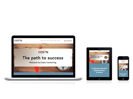 Cosan Consulting - Website and Branding