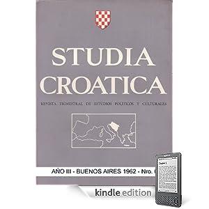 Studia Croatica - número 6 - 1962 (Spanish Edition)