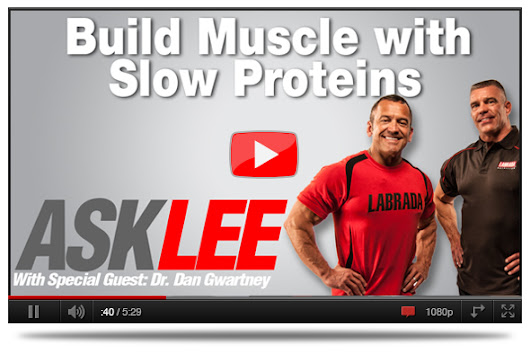 Labrada.com High Rep Massive Biceps Workout |  VIDEO: All About Slow Protein Benefits  | 6 Secrets To Optimal Muscle Growth | Orange Honey Sriracha Chicken