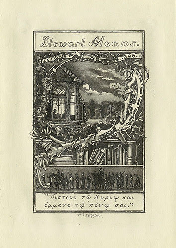 [Bookplate of Stewart Means]