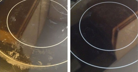 Have a dirty glass top stove? Make it sparkling clean again with these 6 nifty hacks