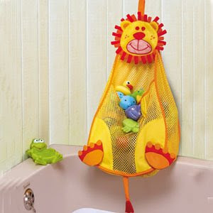 lion bath bag toy organizer