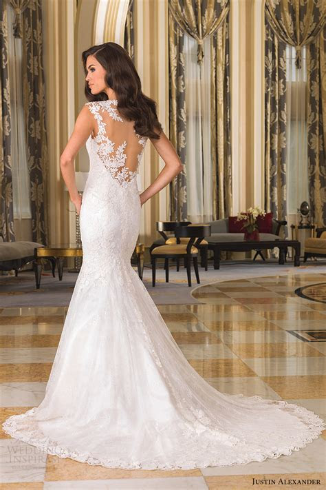 wedding dress justin alexander lace discount wedding dresses