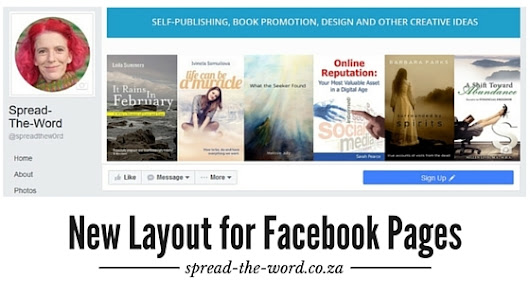 New Layout for Facebook Pages - Spread-The-Word