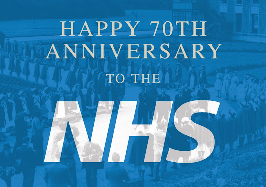 Happy 70th Anniversary to our NHS!