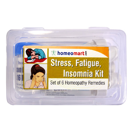 Homeopathy Stress, Fatigue, Insomnia Medicine Kit - Homeopathy Remedies