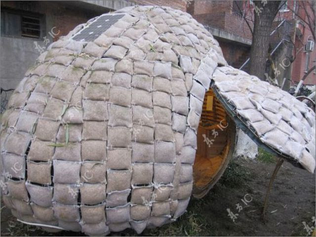 A Real Easter Egg House