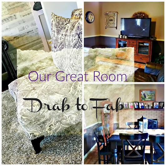 Our Great Room-Drab to Fab - Lou Lou Girls