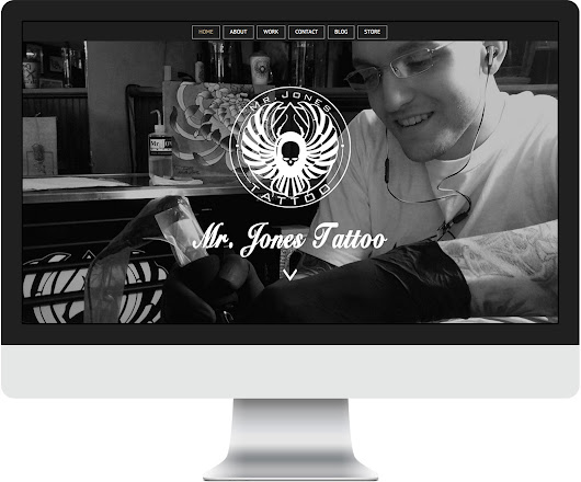 Site Launch Spotlight - Mr. Jones Tattoo - Pixelevate!