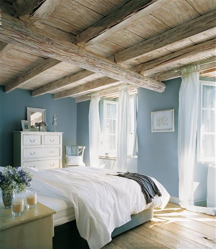 Wooden Ceiling and L
