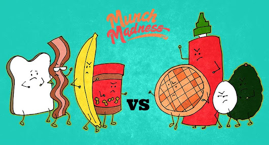 Munch Madness 2014: The Final Round | Knuckle Salad