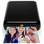 Zink Polaroid ZIP Wireless Mobile Photo Mini Printer (Black) Compatible w/ iOS & Android, NFC & Bluetooth Devices - Unlimited Cellular