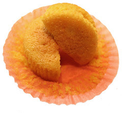 Cupcakes apricot and carrot