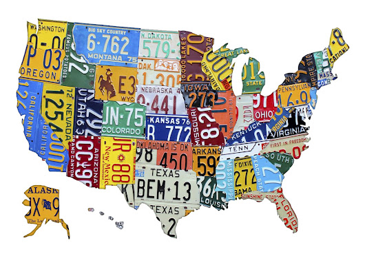 Americans Are In Love With Old License Plates - License Plates History