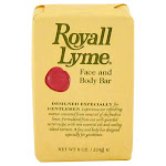 ROYALL LYME by Royall Fragrances Face and Body Bar Soap 8 oz for Men- Royall Fragrances-rangoutlet.com