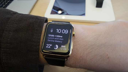 Apple watch in stores today! - Coolsmartphone