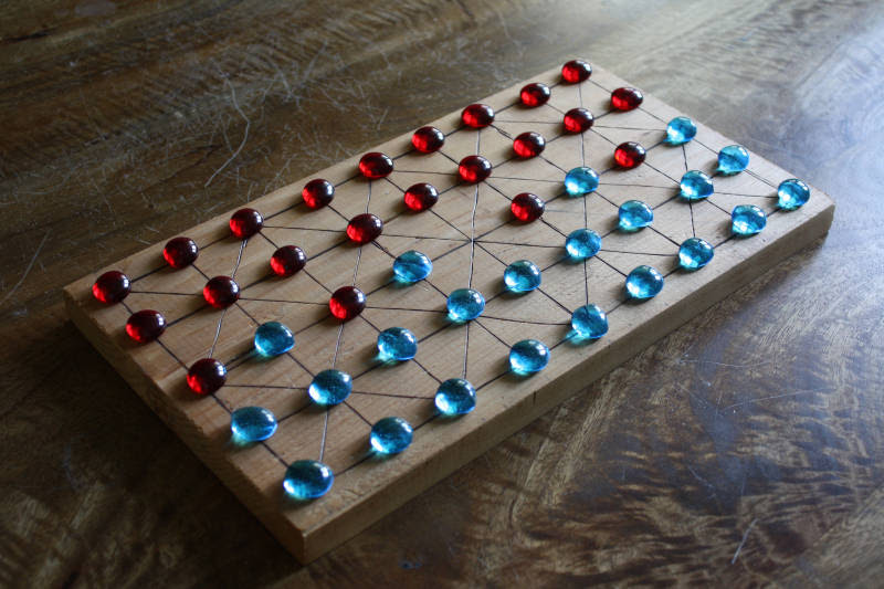 example of fanorona game board