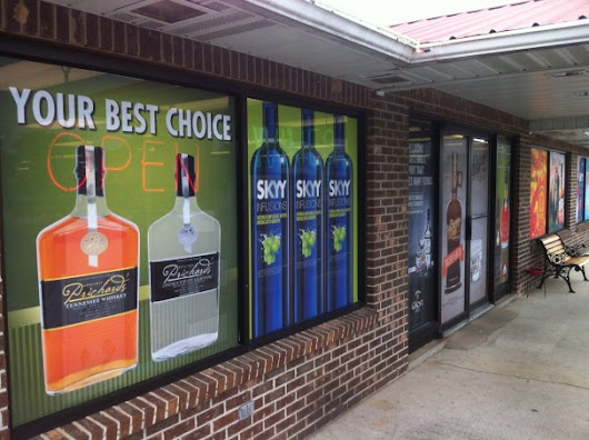 Effective Branding with Perforated Window Vinyl | LexJet Blog