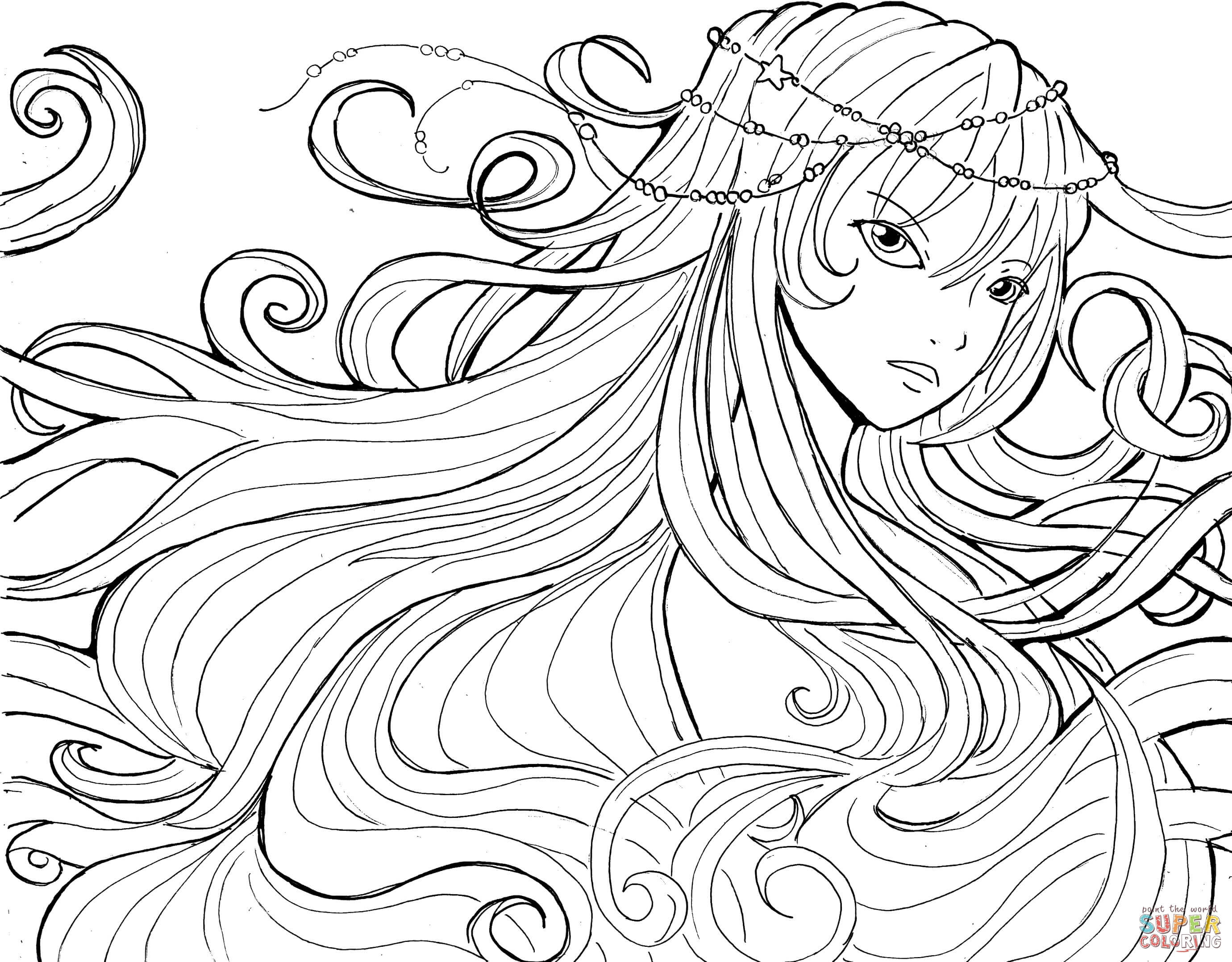 Magi Anime Coloring Pages