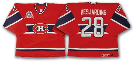 Montreal Canadiens Eric Desjardins Jersey